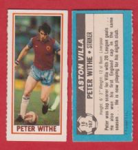 Aston Villa Peter Withe 18